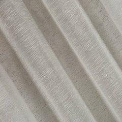 Zasłona w stylu eko 140x250 cm szelki - 140 X 250 cm - szary 3