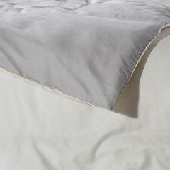 Komplet pościeli z MIKROFIBRY 160 x 200 cm, 2 szt. 70 x 80 cm, DWUSTRONNA, kremowo srebrna - 160x200+70x80/2 - kremowy / srebrny 1