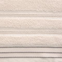 Ręcznik z bawełny z częścią ozdobną przetykaną błyszczącą nicią50x90cm - 50 X 90 cm - różowy 7