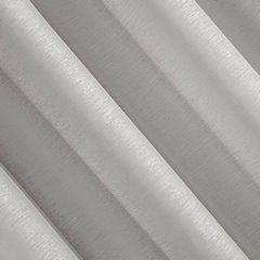 Firana srebrna zwiewna o strukturze deszczyku 140 x 300 cm na taśmie  - 140 X 300 cm - szary 3
