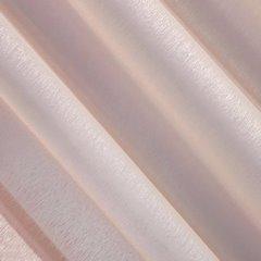 Firana różowa zwiewna o strukturze deszczyku 140 x 300 cm na taśmie  - 140x300 - różowy 2