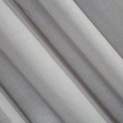 Firana stalowa zwiewna 140 x 300 cm na taśmie - 140x300 - szary 2