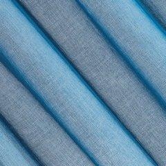 Firana o strukturze etaminy bardzo zwiewna 140 x 250 cm na przelotkach niebieska  - 140 X 250 cm - niebieski 3