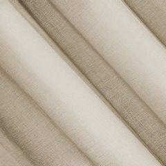 Firana o strukturze etaminy bardzo zwiewna 140 x 250 cm na przelotkach cappuccino - 140 X 250 cm - beżowy 3