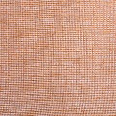 Firana o strukturze etaminy bardzo zwiewna 140 x 250 cm na przelotkach ceglasta - 140 X 250 cm - pomarańczowy 4