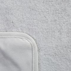 Narzuta koc jednokolorowy popielaty 170x200 cm - 170x200 - srebrny 3