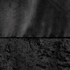Zasłona z dwóch rodzajów tkaniny welwetowej 140 x 270 cm czarna na taśmie  - 140 X 270 cm - czarny 4