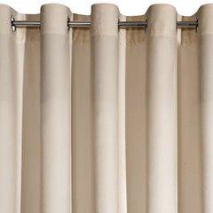 Zasłona welwetowa beżowa 140x250 10 przelotek - 140x250 - beżowy 3