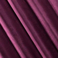 Zasłona welwetowa na 10 przelotkach fioletowa - 140 X 250 cm - fioletowy 3