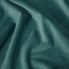Zasłona welwetowa 140X270 cm na taśmie ciemnoturkusowa - 140x270 - ciemnoturkusowy 2