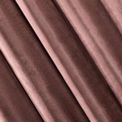 Zasłona welwetowa 140x270 cm na taśmie ciemnoróżowa - 140x270 - różowy 1