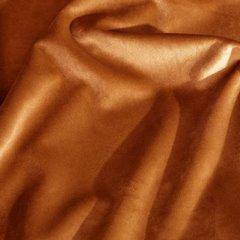 RIA RUDA ZASŁONA Z MATOWEGO WELWETU NA TAŚMIE MARSZCZĄCEJ 140x270 cm EUROFIRANY DIVA LINE - 140 X 270 cm - rudy 5