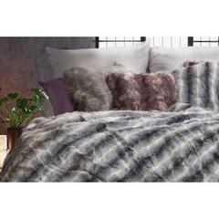 Poszewka dekoracyjna na poduszkę 45 x 45 kolor stalowy - 45 X 45 cm - stalowy 5