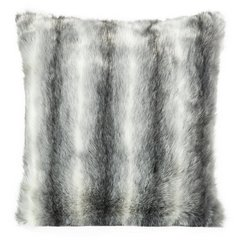 Poszewka dekoracyjna na poduszkę 45 x 45 kolor stalowy - 45 X 45 cm - stalowy 3