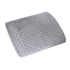 Gruby futerkowy koc luke stalowy 150x200cm - 150 X 200 cm - stalowy 3