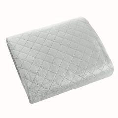 Narzuta na łóżko pikowana hotpress 170x210 cm srebrna - 170 X 210 cm - srebrny 1