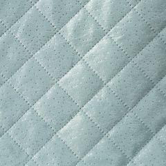 Narzuta na łóżko dwustronna pikowana hotpress 200x220 cm  - 200 X 220 cm - niebieski/srebrny 3