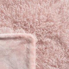 Futerkowy KOC PATTY różowy puszysty 150x200 - 150x200 - różowy 4