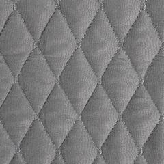 Pikowana narzuta na łóżko stalowy szary 200x220 cm - 200 X 220 cm - stalowy 3