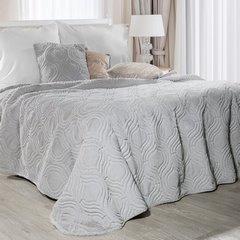 Poszewka na poduszkę 45 x 45 cm srebrna  - 45 X 45 cm - srebrny 2