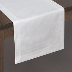 Biały obrus plamoodporny do jadalni 50x105 cm - 50 X 105 cm - biały 2