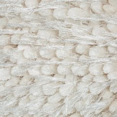 Poszewka na poduszkę 40 x 40 cm włochata kremowa  - 40 X 40 cm - kremowy 7