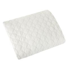 Narzuta na łóżko pikowana srebrna nić 170x210 cm biała - 170x210 - biały 2
