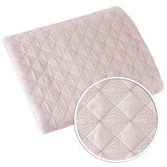 Narzuta na łóżko pikowana srebrna nić 200x220 cm różowa - 200 X 220 cm - jasnoróżowy 6