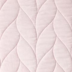 Narzuta na łóżko pikowana warkocz 200x220 cm różowa - 200 X 220 cm - j.różowy 5