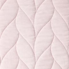 Narzuta na łóżko pikowana warkocz 200x220 cm różowa - 200 X 220 cm - j.różowy 3
