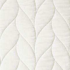 Narzuta pikowana warkocz 200x220 cm kremowa - 200 x 220 cm - kremowy 3