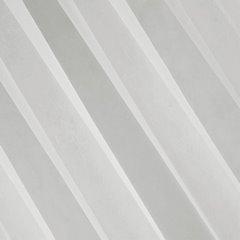 Firana nowoczesna zwiewna 140 x 250 cm na szelkach kremowa  - 140x250 - kremowy 1