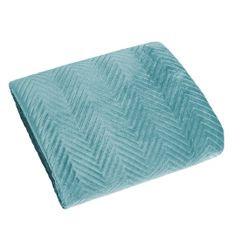 Minimalistyczna narzuta na łóżko miętowa 170x210 cm - 170 X 210 cm - miętowy 1