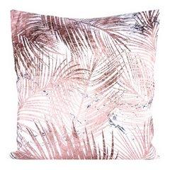 Poszewka dekoracyjna na poduszkę 45 x 45 kolor różowy - 45 X 45 cm - różowy 2
