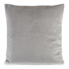 Poszewka na poduszkę gładka srebrna 40 x 40 cm  - 40x40 - srebrny 1