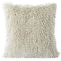 Poszewka na poduszkę włosie shaggy kremowa 40 x 40 cm  - 40 X 40 cm - kremowy 5