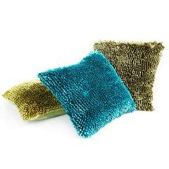 Poszewka na poduszkę włosie shaggy stalowoszara 40 x 40 cm  - 40 X 40 cm - stalowy 7