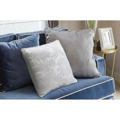 Poszewka dekoracyjna na poduszkę 45 x 45 kolor biały - 45 X 45 cm - biały 2