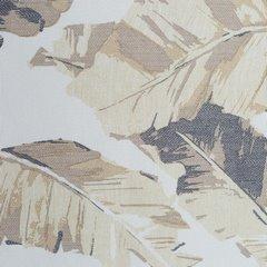 Zasłona egzotyczne liście bananowca mikrofibra przelotki 140x250cm - 140 X 250 cm - beżowy/brązowy 4