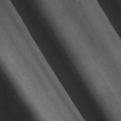Zasłona grafitowa z welwetu na przelotkach 140 x 250 cm  - 140 X 250 cm - grafitowy 3