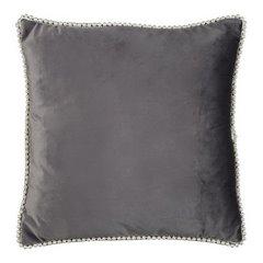 Poszewka na poduszkę 40 x 40 cm grafitowo biała  - 40x40 - grafitowy 1