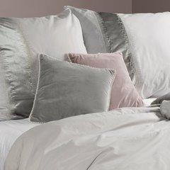 Poszewka na poduszkę 40 x 40 cm różowo biała  - 40 X 40 cm - różowy 8