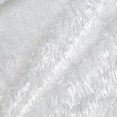 Futerkowy miękki koc BIAŁY z długim włosiem 150x200 - 150x200 - biały 5