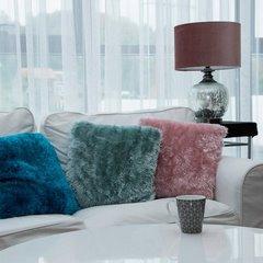 Poszewka na poduszkę 40 x 40 cm biała  - 40 X 40 cm - biały 2