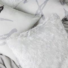 Poszewka na poduszkę 40 x 40 cm biała  - 40 X 40 cm - biały 3