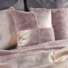 Poszewka dekoracyjna na poduszkę 45 x 45 kolor różowy - 45 X 45 cm - różowy 7