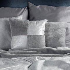 Poszewka dekoracyjna na poduszkę 45 x 45 kolor różowy - 45 X 45 cm - srebrny 6
