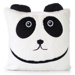 Poszewka dekoracyjna na poduszkę  45 x 45 Kolor Biały/Czarny - 45x45 - biały / czarny 1