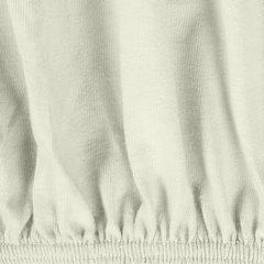 Prześcieradło bawełniane gładkie 90x200+25cm 140 kolor kremowy - 90 X 200 cm, wys.25 cm - jasnoszary 8