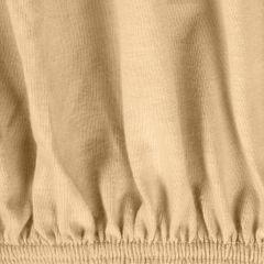 Prześcieradło bawełniane gładkie 90x200+25cm 140 kolor morelowy - 90 x 200 cm - morelowy 5